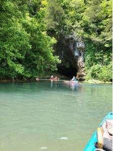 Near the Cave